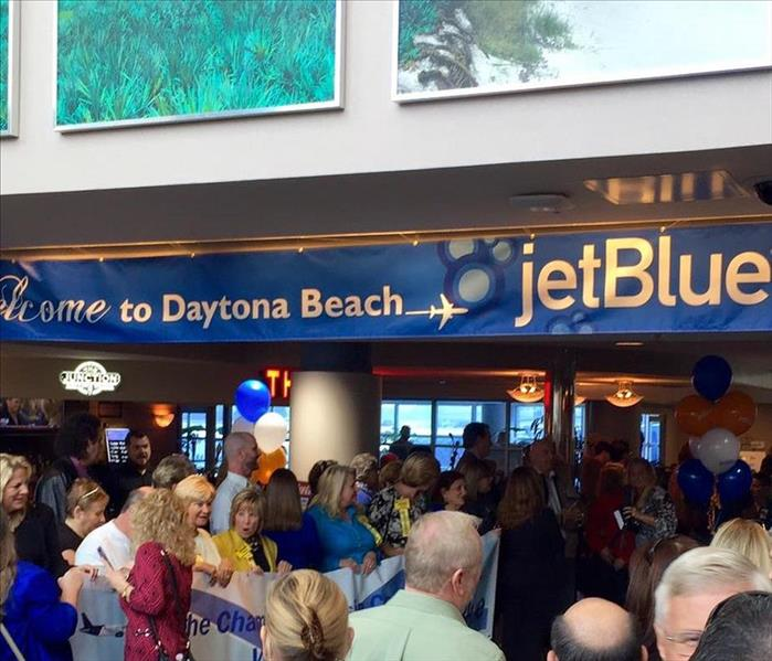 SERVPRO of Flagler welcomes JetBlue Airways