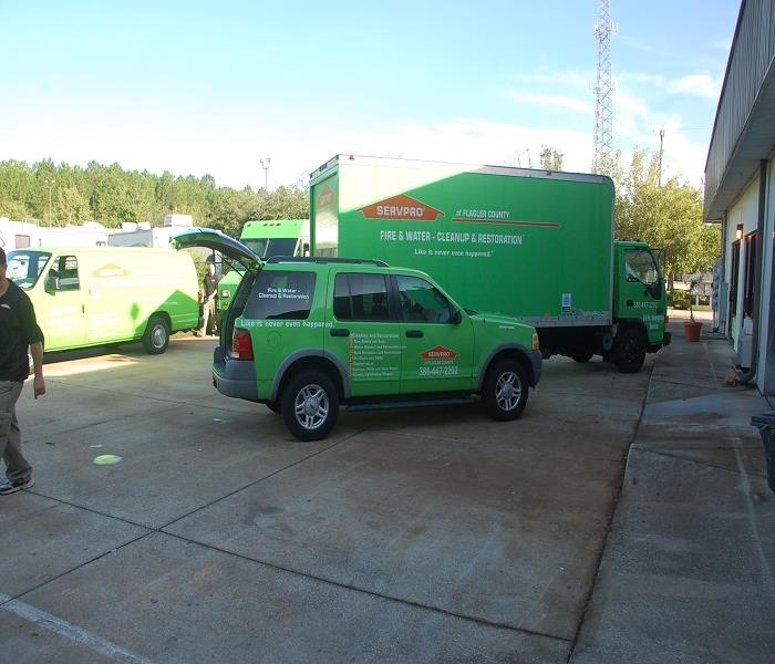Palm Coast Commercial Water Damage Project - Loaded & Ready